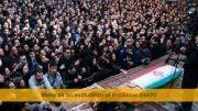 هنرمندان حاضر در مراسم تشبیع جنازه مرتضی پاشایی