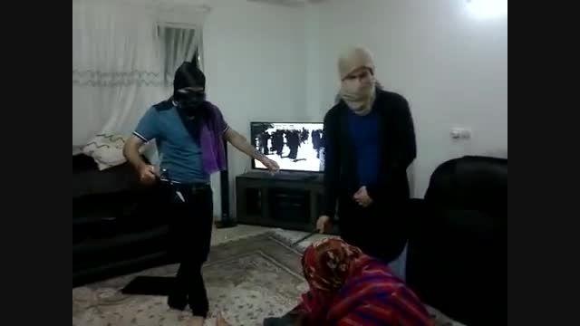 جنایت گروه داعش در منزل فرد مسلمان وکندن پوست