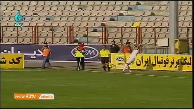 خلاصه بازی: ملوان ۲-۰ استقلال اهواز