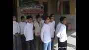 اجرای سرود توسط دانش آموزان