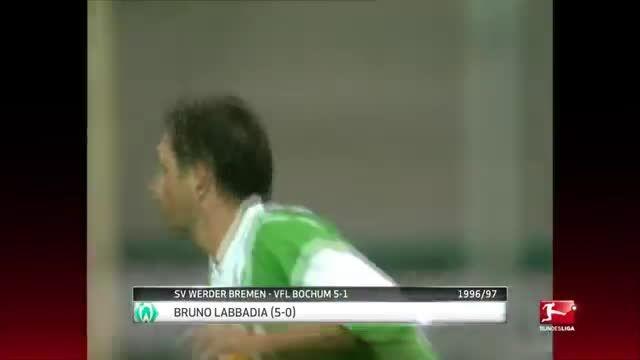 5 گل برتر برون لابادیا (مربی جدید هامبورگ)