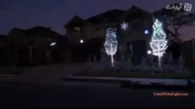 نورپردازی خانه ی مسکونی برای کریسمس