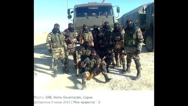 نیروهای ارتش روسیه در سوریه؟