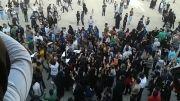 اعتراض مردم اصفهان به خشکی زاینده رود