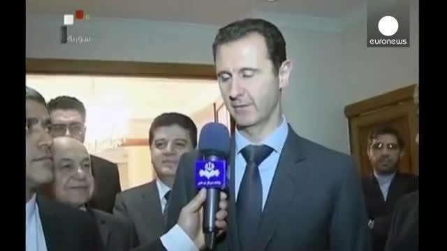 واکنش بشار اسد به پیشنهاد آمریکا برای مذاکره