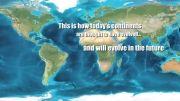 زمین در 100 میلیون سال پیش وزمین درحال حاضر (حتماببینید