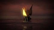 کشتی جدید بازی طوفان دریایی - کشتی قرمز و آبی