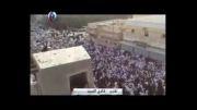تشییع باشکوه شهدای عربستانی