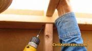 ساخت فرم چوبی برای سقف و پشت بام