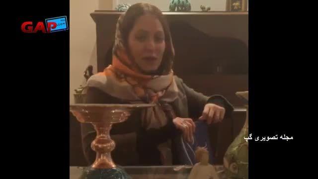 مصاحبه ی وایبری مهناز افشار