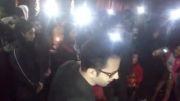 تجمع مردم اصفهان در پل خواجو برای مرتضی پاشایی