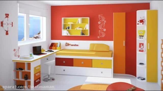 ایده هایی مناسب اتاق بچه