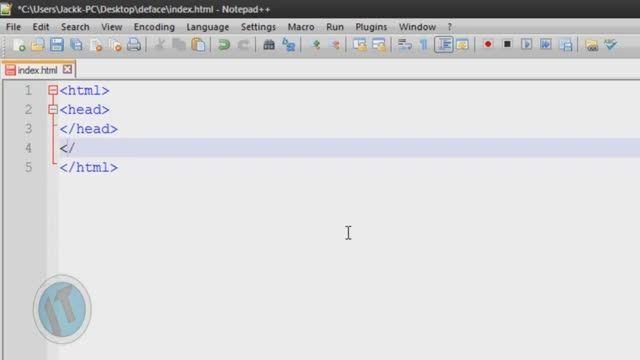 de face html