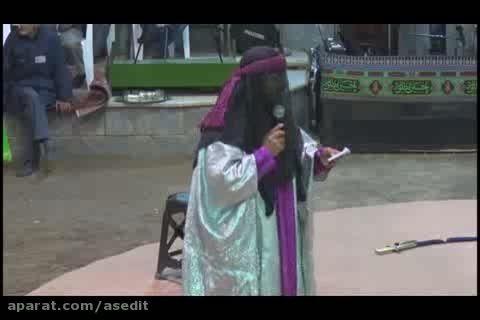 مراسم تعزیه شهادت امام حسن حسینیه تخماقلو