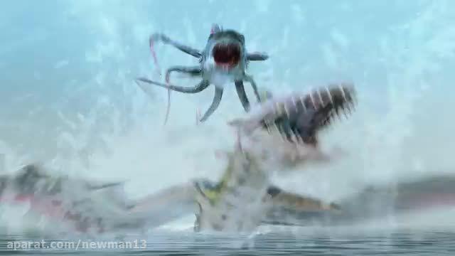 تریلیر فیلم Sharktopus vs. Pteracuda 2014