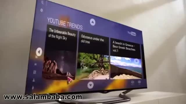 تلویزیون های هوشمند سه بعدی ال جی