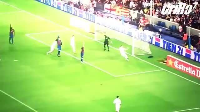 10 گل بیادماندنی کریس رونالدو به بارسلونا
