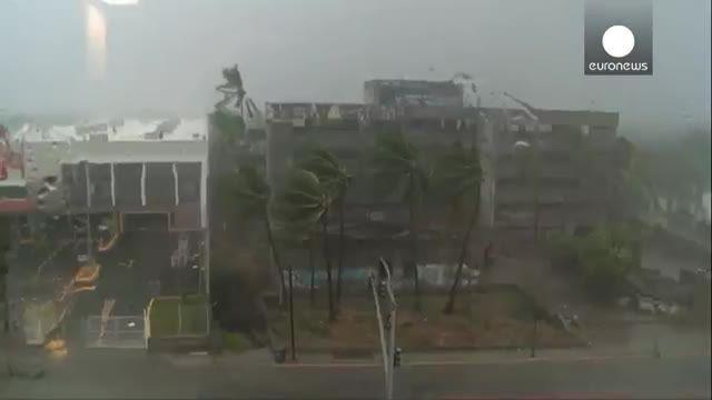 شدیدترین طوفان تاریخ در مکزیک