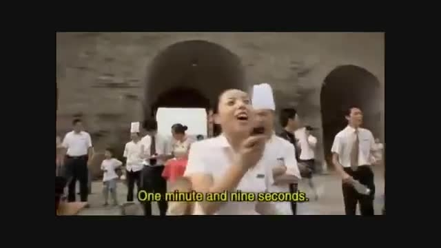 غذای چینی-زنده خواری!!