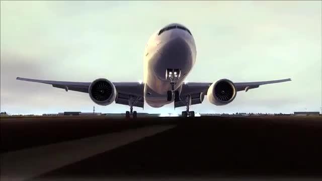 فرود بویینگ 777 در فرودگاه شارل دوگل پاریس