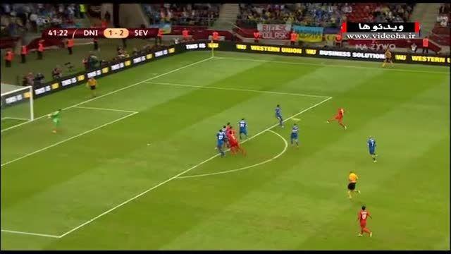 دنیپرو ۲-۳ سویا (فینال لیگ اروپا ۲۰۱۵-۲۰۱۴)