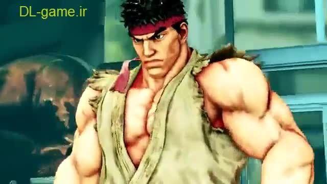 دانلود بازی Street Fighter V کامپیوتر