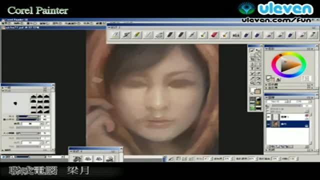 طراحی چهره بی نظیر با فتوشاپ