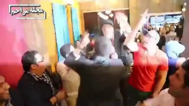 اهانت علی ضیاء به پرویز مظلومی