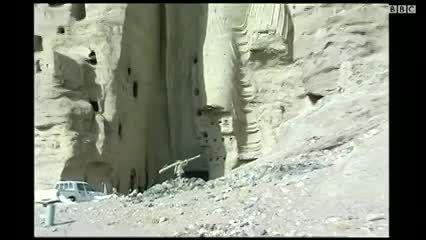 مجسمه های بودا.بامیان.افغانستان