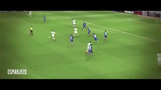 حرکات و گل های دیدنی ستاره 16 ساله رئال مادرید 2014/15