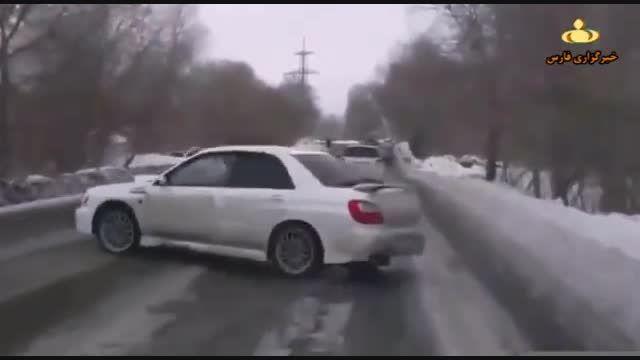 تصادفات رانندگی دیدنی