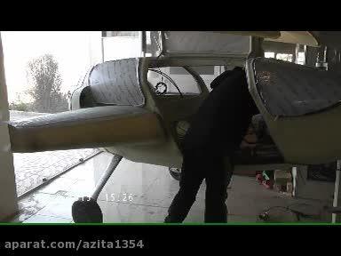 تست موتور هواپیمای آزیتا