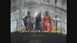 دخترانی که خواستند برای نابودی حجاب انرا آتش بزنند اما