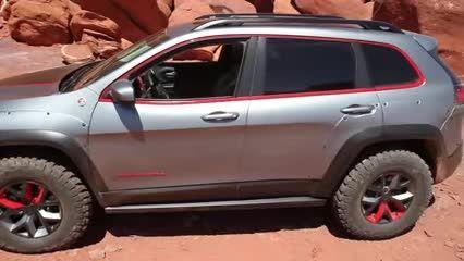 جیپ چروکی 2014 Jeep Cherokee Dakar Concept
