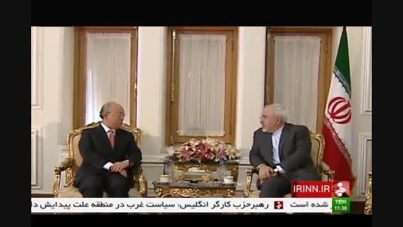 دیدار دکتر ظریف و آمانو رئیس سازمان انرژی اتمی