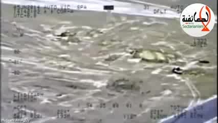حملات سهمگین نیروی هوایی ارتش عراق به داعش