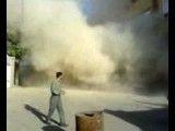سقوط ساختمان 4 طبقه در تبریز