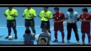 افتتاحیه لیگ فوتسال دانش آموزی فدراسیون ورزش مدارس