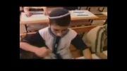 دانش آموزان اسرائیلی در اتوبوس مدرسه