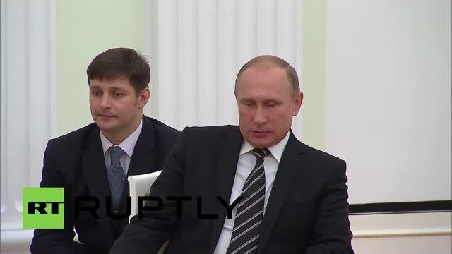 دیدار ضرب العجلی بشار اسد با پوتین در مسکو