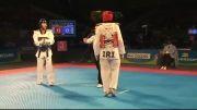 مسعود حجی زواره و ازبکستان - قهرمانی تکواندو جهان 2013