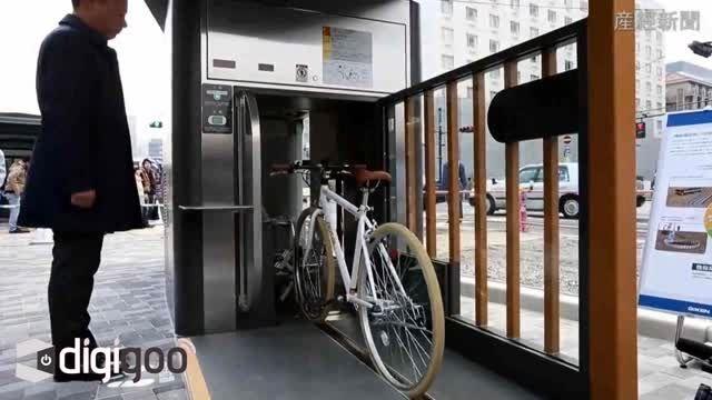 فناوری پارکینگ زیرزمینی دوچرخه در ژاپن