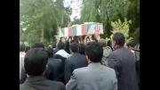 تشییع پیکر پاک شهید گمنام