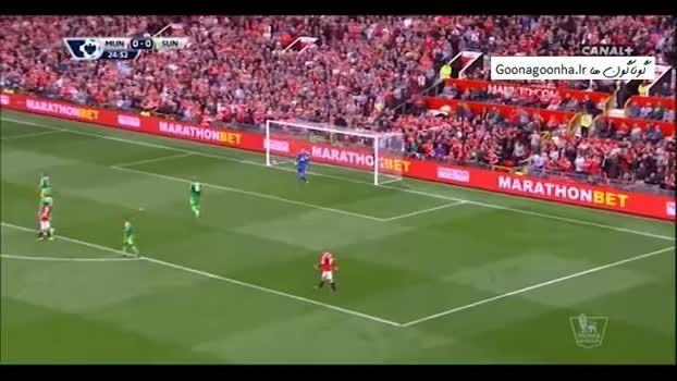 هفته هفتم لیگ انگلیس : منچستر یونایتد 3 - 0 ساندرلند
