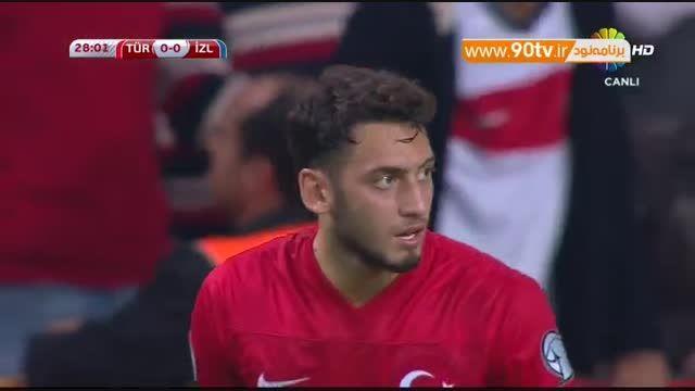 خلاصه بازی: ترکیه ۱-۰ ایسلند (جشن صعود ترکیه)