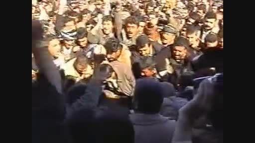 تشییع جنازه عالم بزرگ کردستان عراق (شیخ احمد کاک محمود)