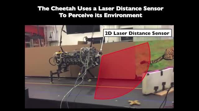 ربات چیتا MIT مستقلا از روی مانع پرش می کند