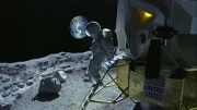 مفقود شدن اولین فضا نورد در ماه