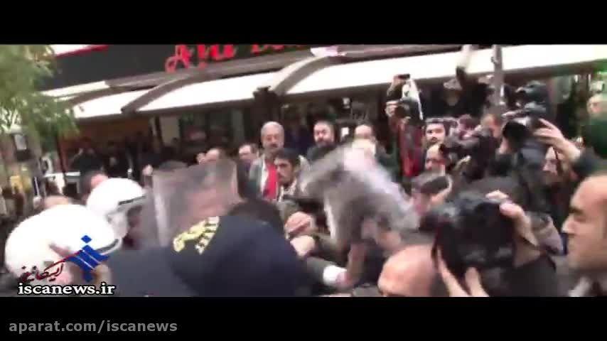 درکیری پلیس و مردم در آنکارا با گاز اشک آور