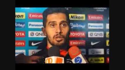 حاشیه های بازی دو تیم پرسپولیس و النصر عربستان